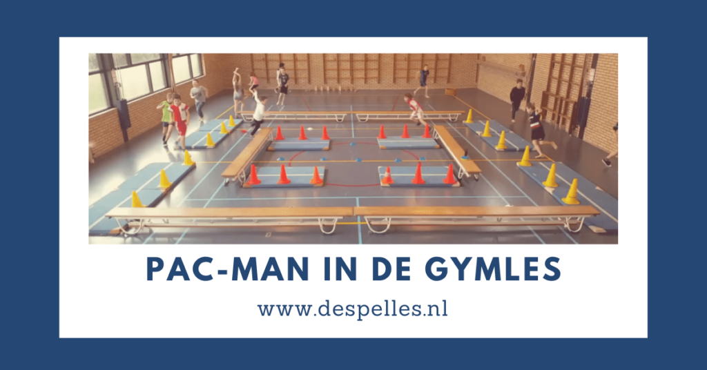 Pac-Man in de gymles