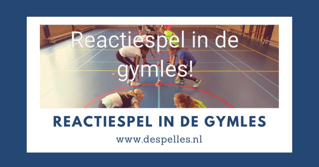 Reactiespel in de gymles