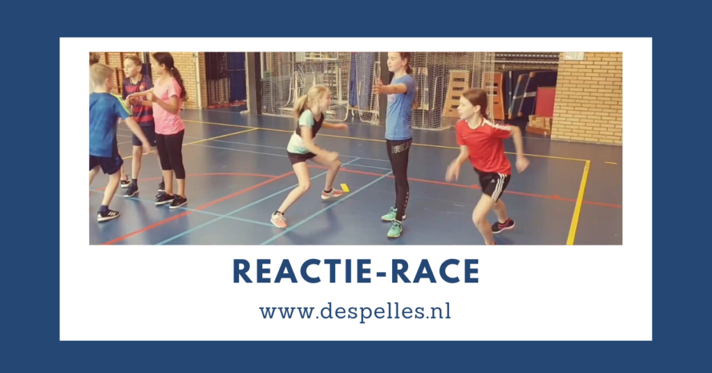 Reactie-Race-in-de-gymles