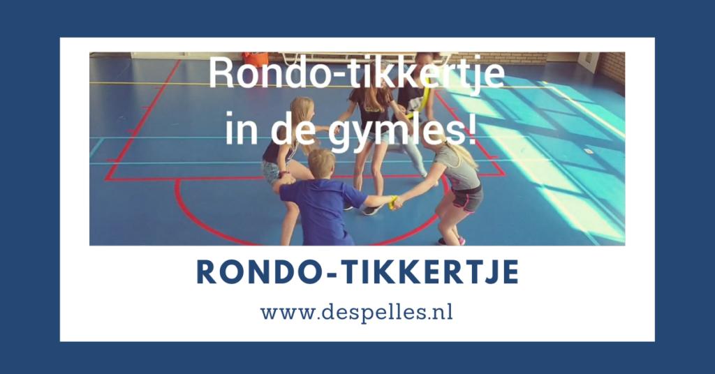 Rondo-Tikkertje in de gymles