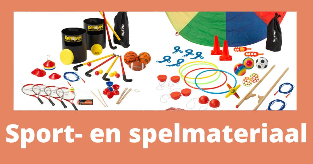 Sport- en Spelmateriaal website