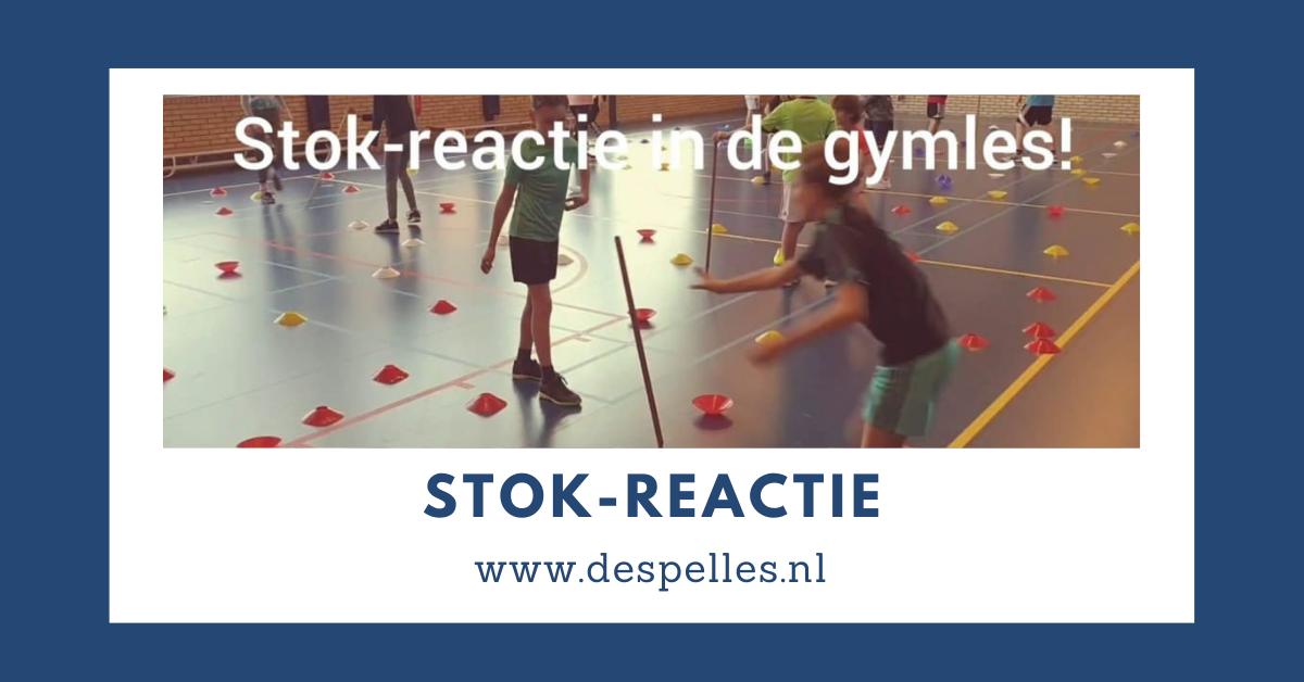 Stok-reactie in de gymles
