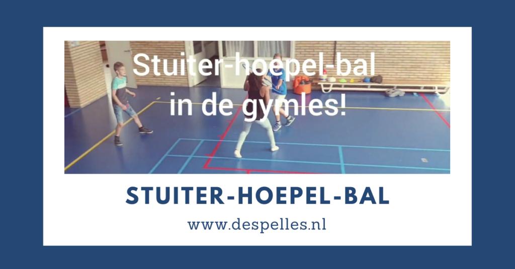 Stuiter-Hoepel-Bal in de gymles