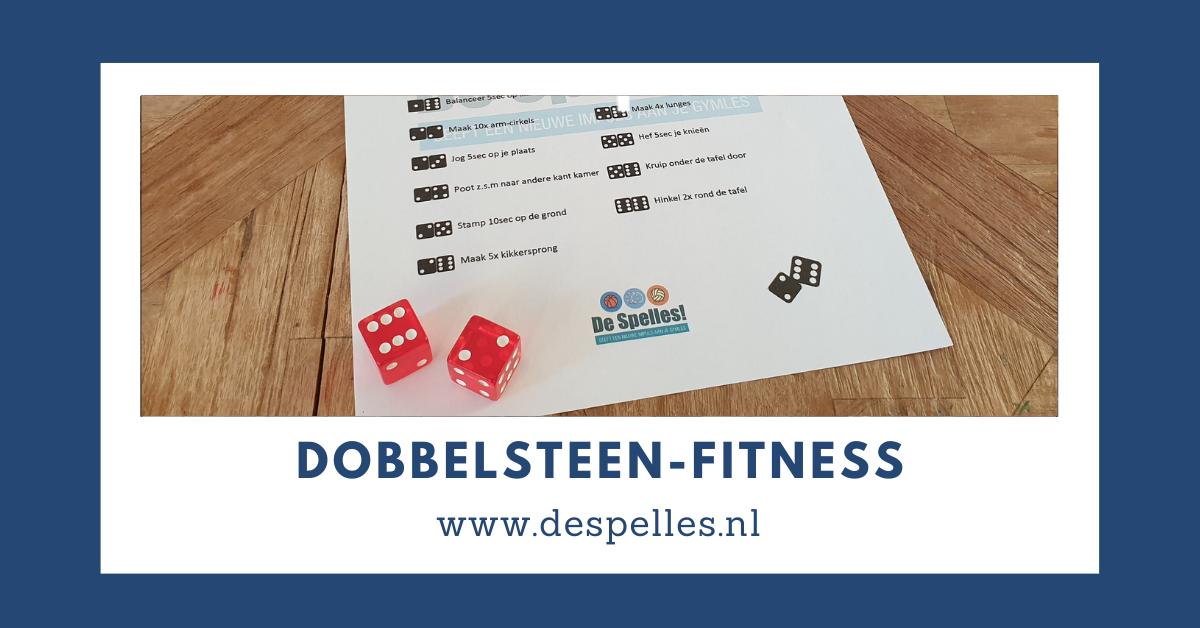 Dobbelsteen-Fitness in de gymles