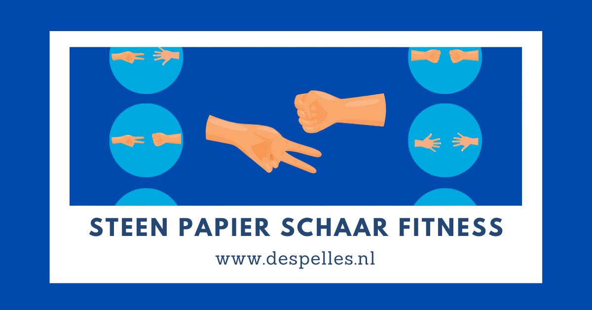Steen Papier Schaar Fitness