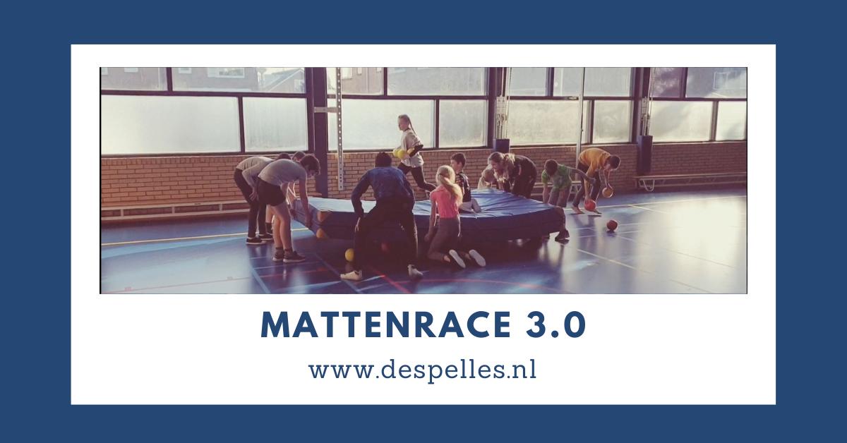 Mattenrace 3.0 in de gymles