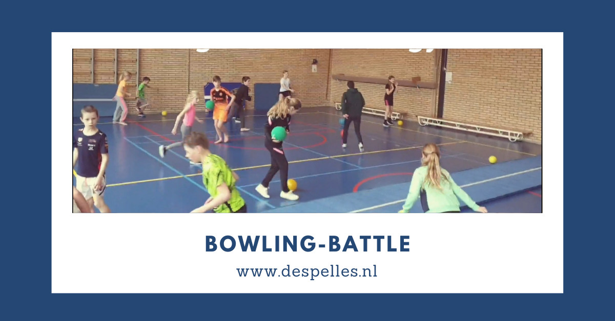 Bowling-Battle in de gymles