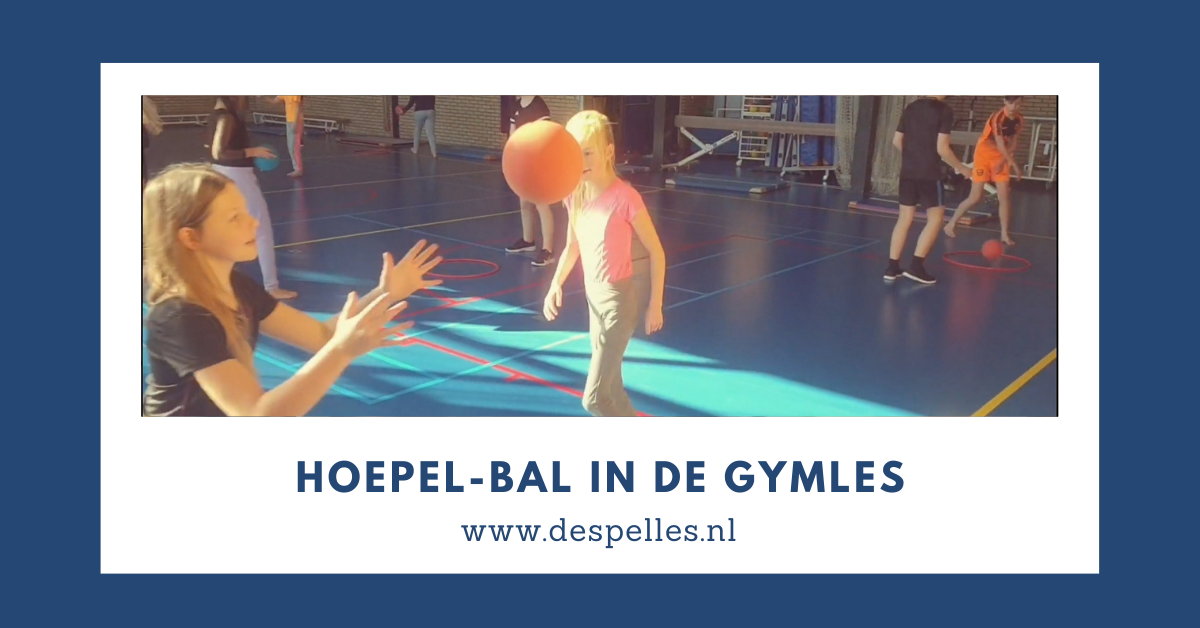 Hoepel-Bal in de gymles