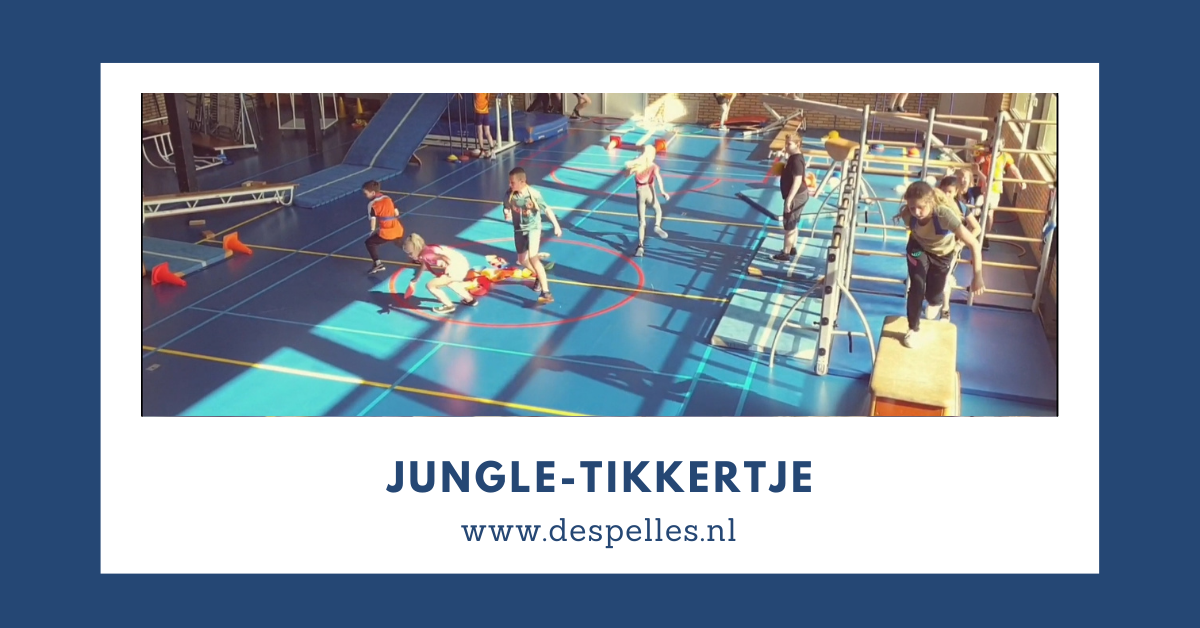 Jungle-Tikkertje in de gymles