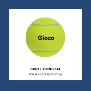 Grote tennisbal - SportSpel.Shop