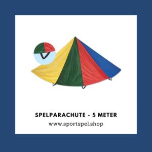 spelparachute - 5 meter - de spelles
