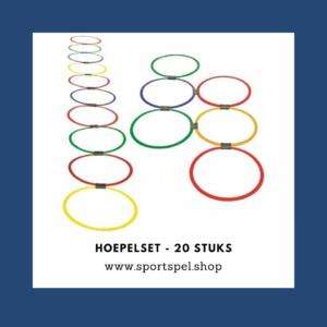 Hoepelset - 20 stuks