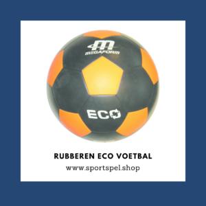 Rubberen eco voetbal