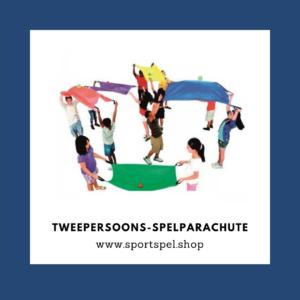 Spelparachute tweepersoons - De Spelles