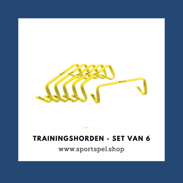 Trainingshorden - set van 6