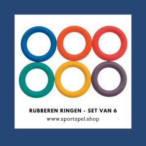 rubberen ringen - set van 6