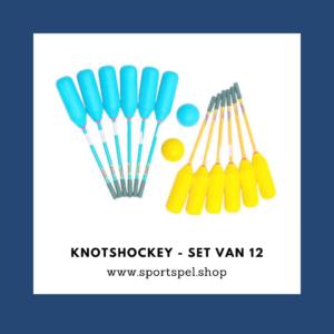 Knotshockey - set van 12