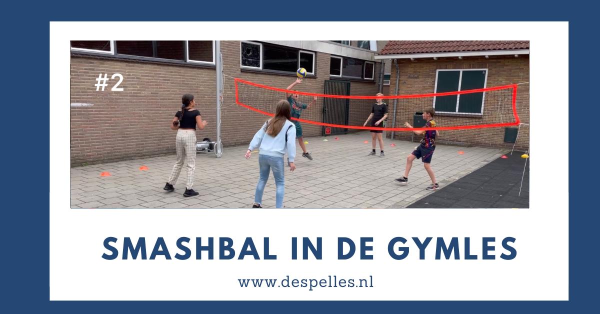 Smashbal in de gymles