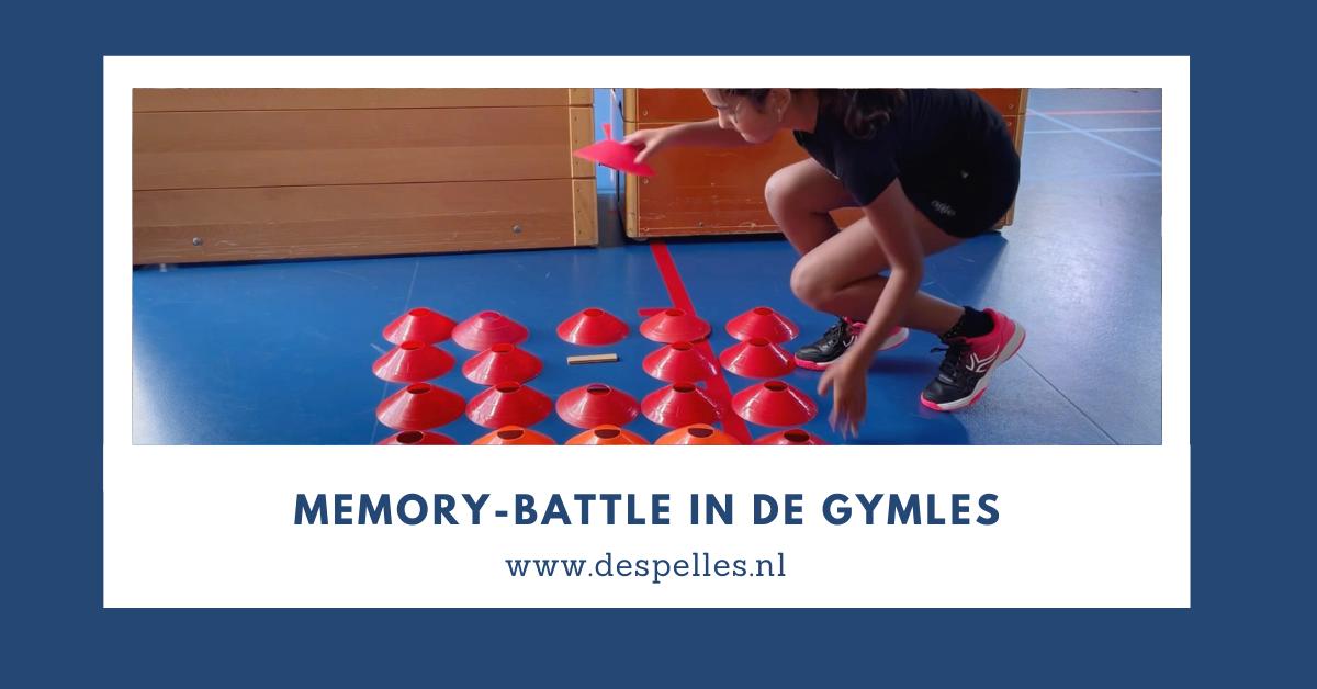 Memory-Battle in de gymles